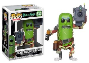 Funko Pop Rick and Morty - Pickle Rick (With Laser)