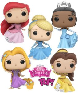 Funko Pop Vinyl Princesas Disney