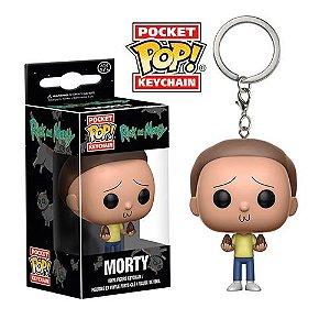 Chaveiro Pocket Pop Rick and Morty - Morty