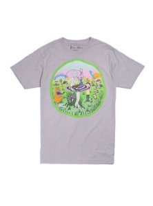 T-Shirt Rick and Morty Dimensão Wonderland