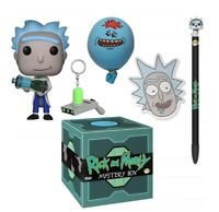 Funko Rick e Morty Mystery Box Hot Topic Exclusive