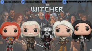 Funko Pop Vinyl The Witcher Wild Hunt