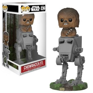 Funko Pop Vinyl Star Wars Chewbacca With AT-ST