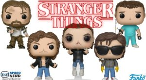 Funko Pop Vinyl Stranger Things 2ª Temporada (Novos)