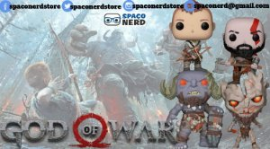 Kit de Funkos Pop Vinyl God of War