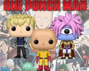 Kit de Funkos Pop Vinyl One Punch Man