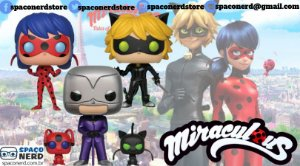 Kit de Funkos Pop Vinyl Miraculous