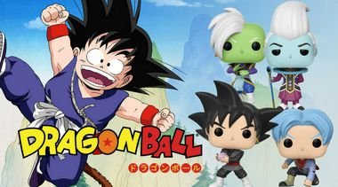 Kit Completo de Funkos Pop Vinyl Dragon Ball Super