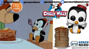 Funko Pop Vinyl Chilly Willy with Pancakes