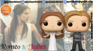 Funko Pop Vinyl Romeo and Juliet