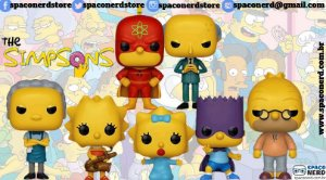 Funko Pop Vinyl The Simpsons