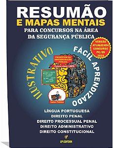 Resumão e Mapas Mentais para Concursos na Área de Segurança Pública - Versão Atualizada Edital  Concurso Polícia Civil/ES 2018/2019 (Download) - Em Pré- Venda (Disponível a partir de 10/02/2019)