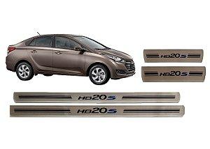 Jogo De Soleiras Hyundai Hb20S 2012 A 2019