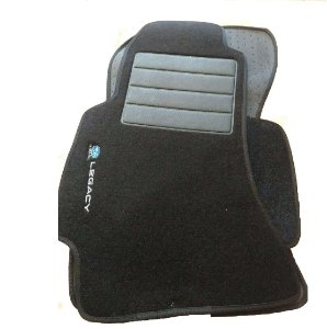 JogoDe Tapetes Carpete Bordado Com 04 Peças Subaru Legacy