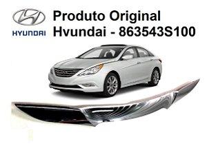 Acabamento Original Da Grade Dianteira Hyundai Sonata 2.4