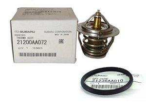 Válvula Termostática Original Com Anel De Vedação Subaru Forester Impreza
