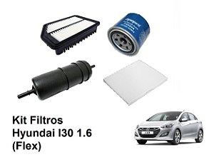 Kit De Filtros Hyundai I30 1.6 Flex