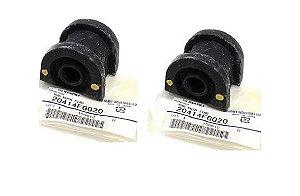 Par De Buchas Estabilizadora Suspensão Dianteira Original Subaru impreza 2.0 160 Cv 20414FG020