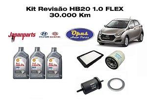 KIT REVISÃO HYUNDAI HB20 1.0 FLEX 30 OU 90 MIL KM