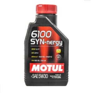 ÓLEO DE MOTOR 5W30 SINTÉTICO MOTUL 6100 SYN-NERGY