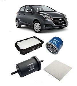Kit De Filtros Hyundai Hb20 1.6 Flex