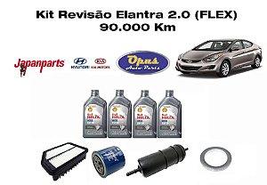 KIT REVISÃO HYUNDAI ELANTRA 2.0 FLEX 30 OU 90 MIL KM