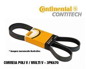 Correia Poli V Da Direção Hidráulica Hyundai Hb20 I30 2.0 Tucson 2.0 - 3PK670