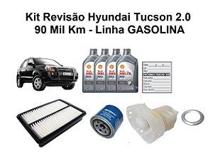 Kit Revisão Hyundai Tucson 2.0 Gasolina 90 Mil Km