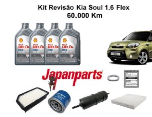 Kit Revisão Kia Soul 1.6 Flex 60 Mil Km
