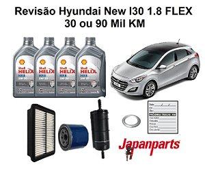 Kit Revisão Hyundai New I30 1.8 30 Ou 90 Mil Km