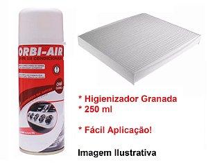 Filtro Da Cabine Ar Condicionado e Higienizador Granada Azera 3.3 Santa Fé 2.7 Sorento 2.5 3.5 Magentis 2.0