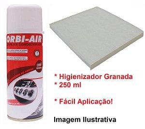 Filtro Da Cabine Ar Condicionado Com Higienizador Granada Azera 3.0 Sonata 2.4 Cadenza 3.5 Optima 2.4 Sportage 2.0