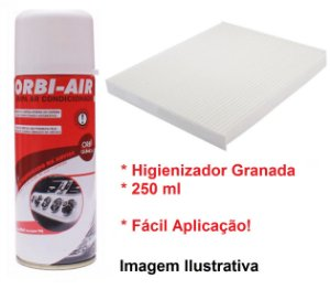 Filtro Da Cabine Ar Condicionado Com Higienizador Granada I30 1.6 1.8 Elantra 1.8 2.0 Kia Cerato 1.6