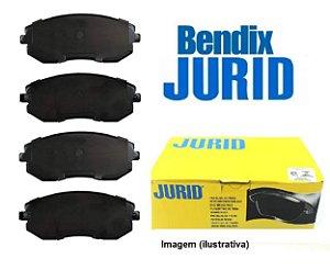 Jogo De Pastilhas De Freio Dianteiro Subaru Forester 2.0 Lx Xs Impreza 2.0 160 Cv