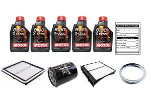Kit De Filtros Subaru Xv 2.0 Com Óleo Motul 8100 5W40 Sintético