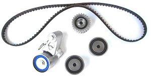 Kit Correia Dentada 211 Dentes com Rolamentos e Tensor Hidráulico Subaru Impreza Legacy CT792K2