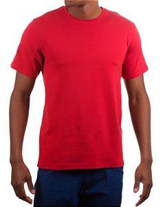Camiseta Algodão - Vermelha
