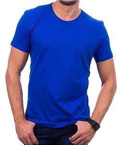 Camiseta Algodão - Royal