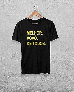 Camiseta Melhor Vovô de Todos