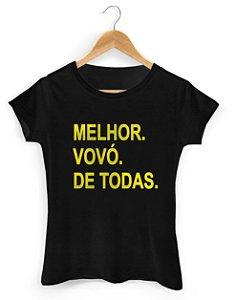 Camiseta Melhor Vovó de Todas