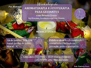 Workshop de Aromaterapia e Fitoterapia para gestantes