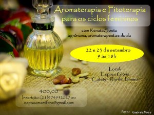 Curso Aromaterapia e Fitoterapia para os Ciclos Femininos - Rio de Janeiro