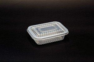 Embalagem Retangular Freezer e Microondas Starpack PP 02 350ml c/250un