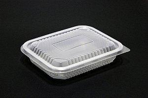 Embalagem Retangular Freezer e Microondas Starpack PP 04 1000ml c/150un