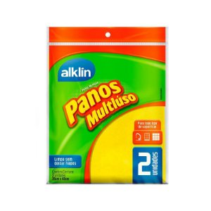 PANO MULTIUSO ALKLIN AMARELO