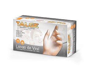 Luvas de Vinil Talge c/100un