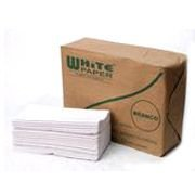 Toalha Interfolha BRANCO White Paper 21x23 com 1000 unidades