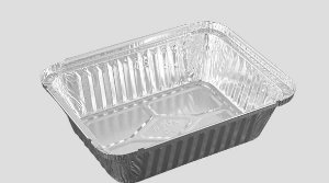 Bandeja de Aluminio Wyda D2 1000ML