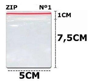 Saco Zip 5x8 C/100un N°1