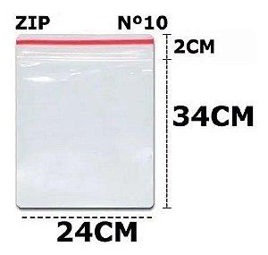 SACO ZIP N 10 24X34 C/100 UN